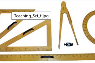 Teacher Aid And Geometry Sets